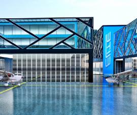 ubicado en Guaymaral centro comercial aeronautico y de negocios.